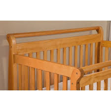 Emily 4 In 1 Convertible Crib Davinci Emily 4 In 1 Convertible Wood Baby Crib In Honey Oak M4791o