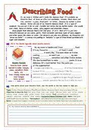 english worksheet recipe instructions process of cooking