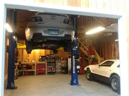 Garages Designs by Great Car Lifts For Small Garages U2014 The Better Garages