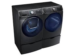Samsung Blue Washer And Dryer Pedestal Dv50k7500 7 5 Cu Ft Gas Dryer Dryers Dv50k7500gv A3 Samsung Us