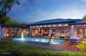modern contemporary home construction in south florida