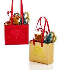 merry set of 2 macy s paper shopping bag