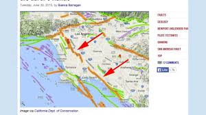 California Fault Map West L A Earthquake Fault Line Goes To Earth U0027s Mantle Youtube