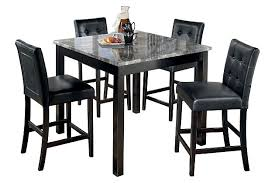 Dining Room Table Counter Height Maysville Counter Height Dining Room Table And Bar Stools Set Of