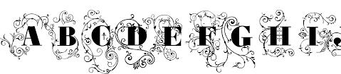 grave ornamental font youworkforthem