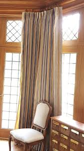 46 best custom window treatments images on pinterest custom view this amaxing luxurious window treatment made in off white silk hanging from a brass pole