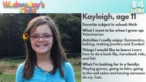 wednesday s child 11 year kayleigh cbs boston