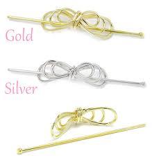 half ring kids rakuten global market metal line layered ribbon