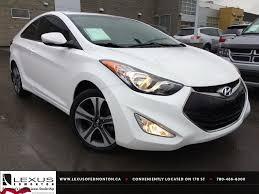 used lexus car dealers essex used white 2013 hyundai elantra coupe auto se review grande cache
