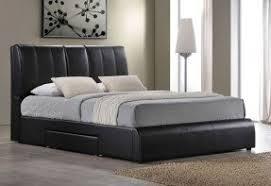 Leather Platform Bed Leather Platform Bed With Storage Foter