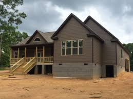 exterior one story house front view one story house front view