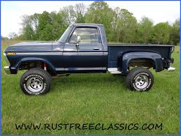 79 Ford F150 Truck Bed - 1978 78 f150 ford 4x4 short bed step side ranger blue
