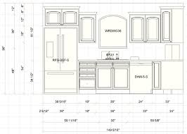 standard size kitchen cabinets with sizes common detail specs