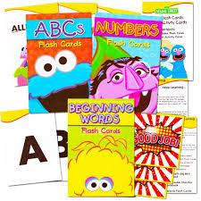 kid cards sesame flash cards set toddler kids