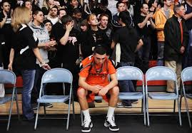basketball player on bench dear fans from a player s perspective
