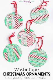 washi ornaments that can make