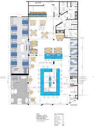 restaurant designer raymond haldemanfins bar grille high fins floor plan