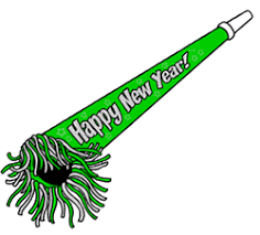 new years party blowers party horn drawing lesson