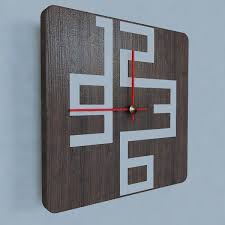 model of contemporary wall clock design