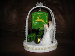 deere cake toppers new deere wedding cake topper with wedding