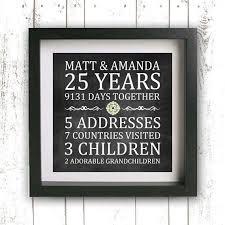 25 wedding anniversary gift ideas great 25 wedding anniversary gift ideas b18 on pictures gallery
