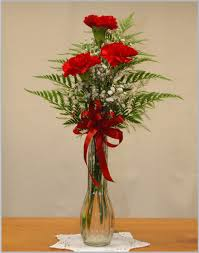 Bud Vase Arrangements Carnations