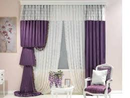 appealing purple and white curtains and opt for purple curtains 25