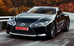 top speed of lexus lf lc 2018 lexus lc coupé gets detailed will debut in the u s in