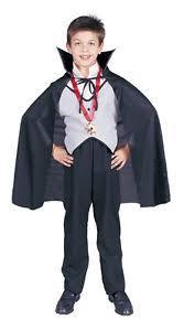 classic count dracula vampire cape collar child halloween costume