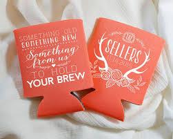 wedding gift koozies 261 best koozie addiction images on wedding koozies