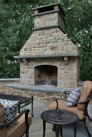 Outdoor Fire Places by Unique Outdoor Fireplaces Beautiful Home Design Wonderful With