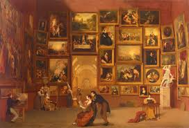 the best of the louvre on a single canvas npr