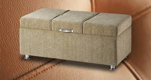 coffre de rangement chambre coffre de rangement pour la chambre matelassé en tissu scala