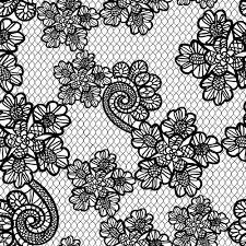 retro lace ornament pattern seamless vector 01 vector ornament
