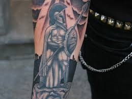 spartan warrior cover up tattoos