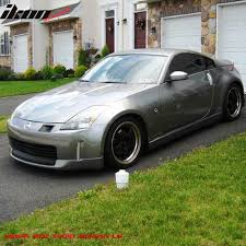 fairlady nissan 350z fit for 06 08 nissan 350z front bumper lip spoiler ing s style