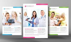 healthcare brochure templates free amazing health care flyer templates on clinic