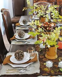 Autumn Table Decorations Lovable Fall Table Settings And 15 Fall Table Decorations Ideas