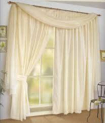 Bathroom Valance Ideas by Decoration Ideas Elegant White Sheer Tassel Valance With Copper