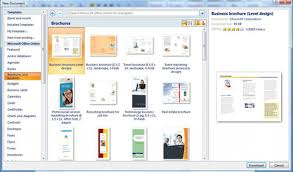 brochure templates for word 2007 how to make a brochure microsoft word renanlopes me