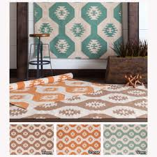 Flat Weave Cotton Area Rugs Flat Woven Area Rugs Mandara Contemporary Handmade Abstract