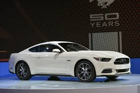 mustang 50th anniversary edition 2015 ford mustang gt 50th anniversary edition