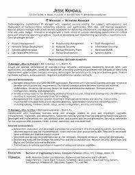 resume exles information technology manager requirements it resume exle beautiful new it system support sle resume