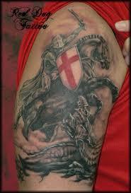 ferrari emblem tattoo saint george and the dragon art pinterest tattoo saint