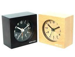 Modern Desk Clock Desk Clock Modern Ancient Glass Clock Inspired Modern Half Circle