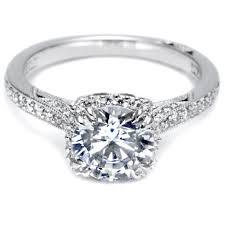 engagement ring designers tacori dantela collection platinum diamond semi mount engagement