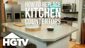 can you replace cabinets without replacing countertops how to remove laminate kitchen countertops hgtv
