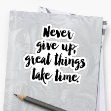 motivational poster never give up office decor quote wall art motivational poster never give up office decor quote wall art inspirational calligraphy quote print typography poster stickers