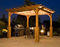 Small Patio Gazebo by Backyard With Small Patio And Cedar Pergola Backyard Wooden