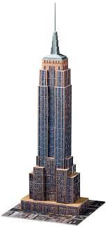 3d empire state building 3d building puzzles ravensburger
